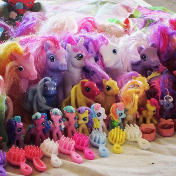 My Little Ponies via WeeBirdy.com.