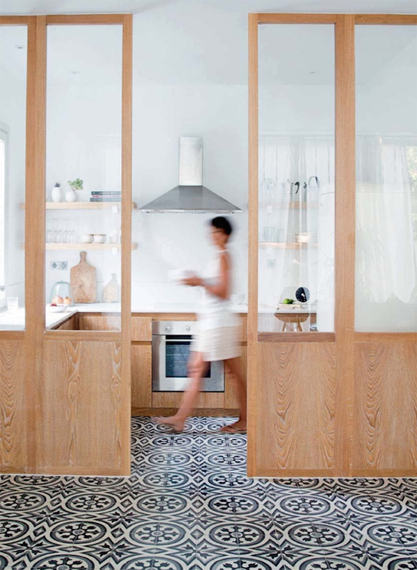 10 Amazing Home Ideas Interior Designer Shaynna Blaze Loves:Kitchen timber and marble fittings  by Tunisian design company Marmo Spirito.