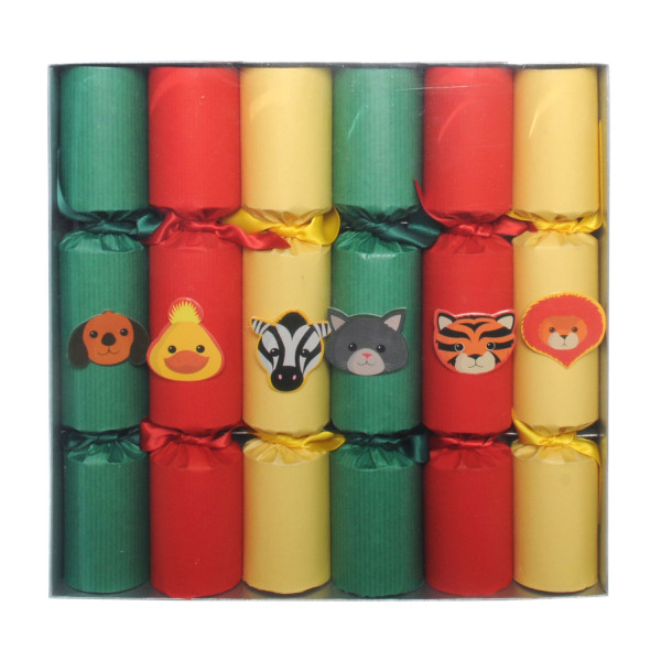 Wee Birdy's round-up of the best crackers for Christmas 2014: Heals' children's puppet crackers, via WeeBirdy.com.