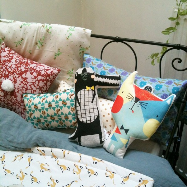 Pépin la Lune in Brussels has a new collection of softies by British design company Corby Tindersticks.