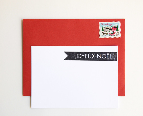 What to buy for Christmas from Etsy now: Address stamps for Christmas cards, via WeeBirdy.com