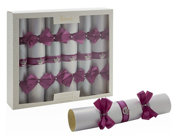 Wee Birdy's round-up of the best crackers for Christmas 2014: Harrods Ice Princess Crackers, via WeeBirdy.com.