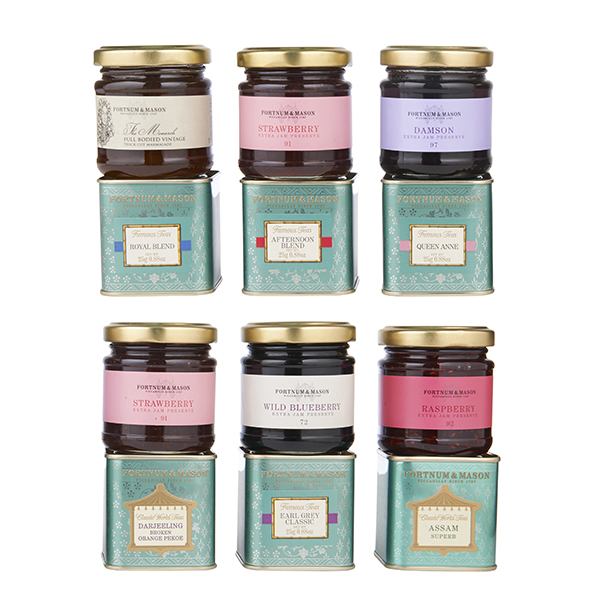 Wee Birdy's round-up of the best crackers for Christmas 2014: Fortnum's Afternoon Tea Crackers, via WeeBirdy.com.