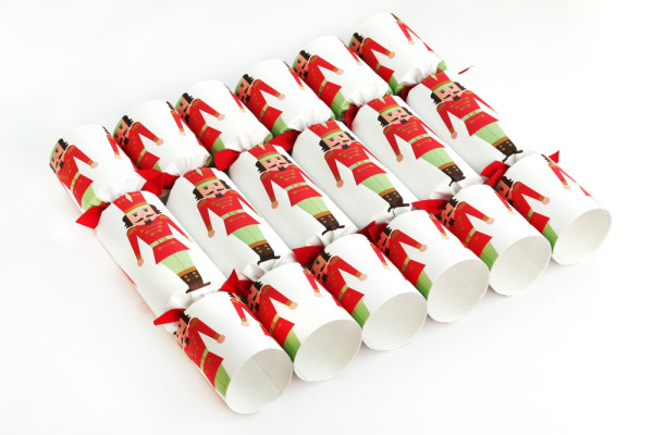 Wee Birdy's round-up of the best crackers for Christmas 2014: Luxury Nutcracker  Crackers set of 6  £34, by Nancy & Betty.