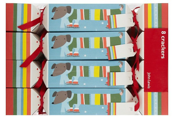 Wee Birdy's round-up of the best crackers for Christmas 2014:John Lewis Sausage Dog Crackers, via WeeBirdy.com.