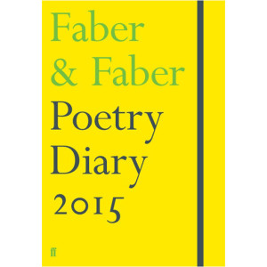 25 Excellent Presents for Book Lovers, via WeeBirdy.com: Faber & Faber Poetry Diary 2015, £12.99, from the Literary Gift Company.