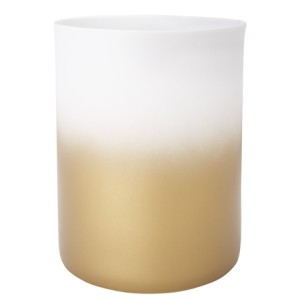 Decorate ombre tealight in gold, $24.95, from Freedom.