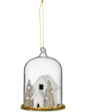 Orn house in glass dome $9.95, from David Jones.