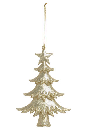 Luxe glitter Christmas tree ornament, $4.99, from Myer.