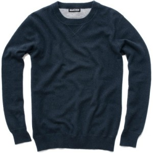 Naadam cashmere sweater, $352.10, from Kauffmann Mercantile.