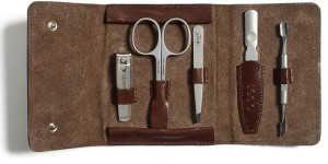 Alpen Italian leather manicure kit, $139.40, from Kauffmann Mercantile.