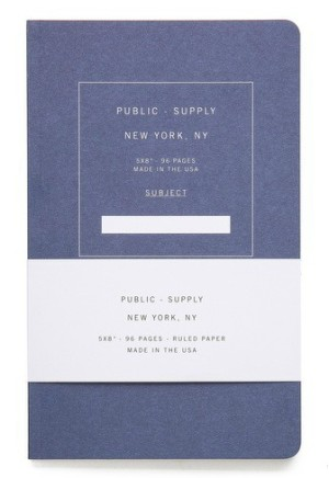 Public Supply ruled notebook, $15.01, from East Dane.