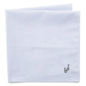 Embroidered glasses handkerchief, $52.53, from East Dane.