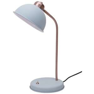 Penny Table Lamp in Dusty Blue $49.95