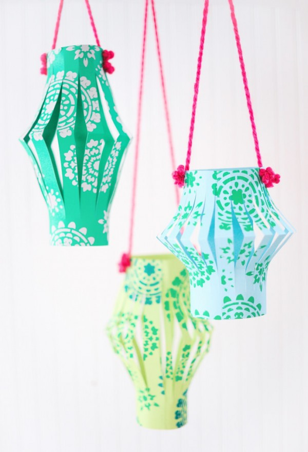 The best craft projects to make with kids, via We-Are-Scout.com: Chinese paper lanterns.