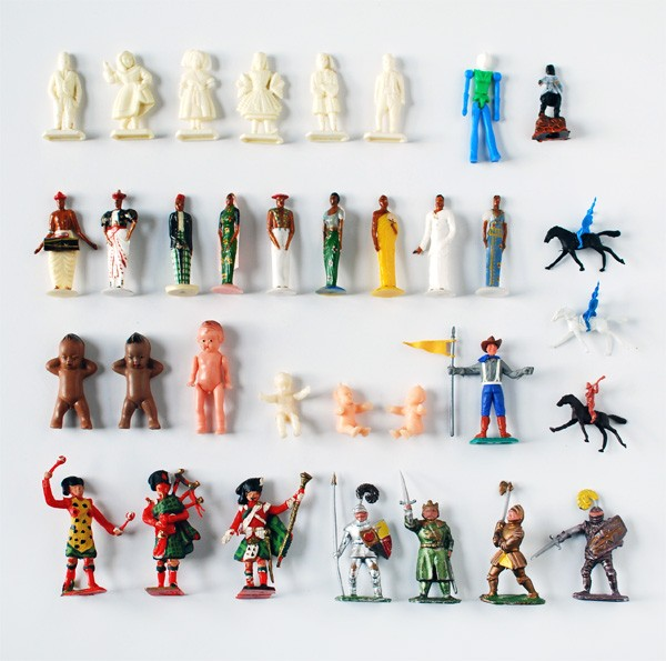 Small collectable toys from the '70s. Photo: Lisa Tilse for We Are Scout