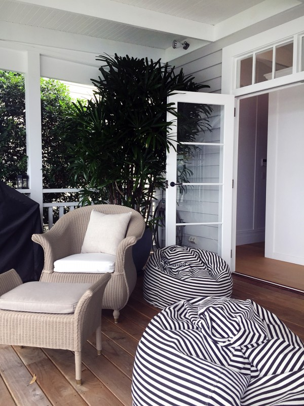 Relaxed living on the deck. Photo by Rebecca Lowrey Boyd.