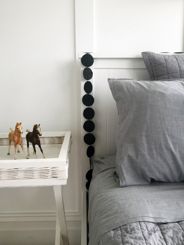 Guest bedroom for grandchildren. Photo by Rebecca Lowrey Boyd for We Are Scout.