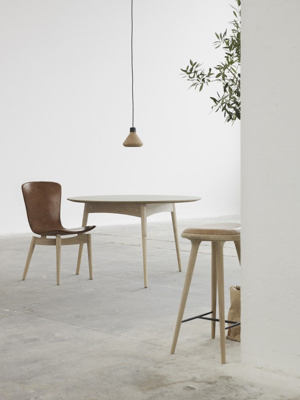 Scandinavian design: Danish brand Mater dining table.