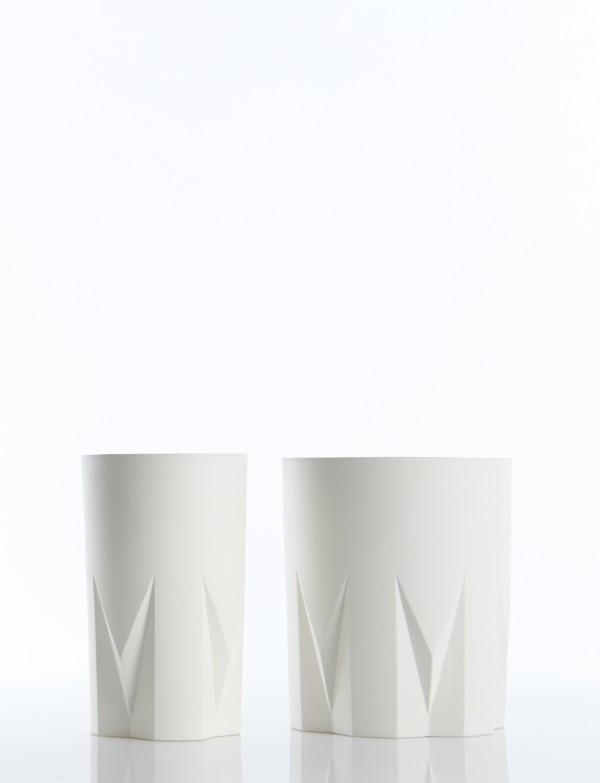 Scandinavian design: Queen series Q11 and Q12 vases by Piece of Denmark.