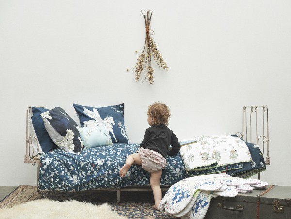 New organic children's bedding by London brand Forivor, via We Are Scout.