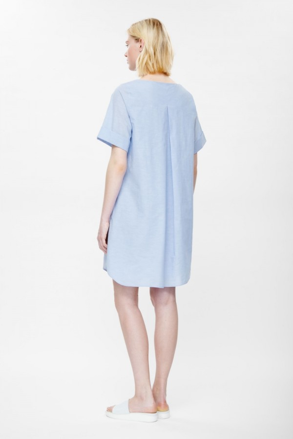 Cotton and linen dress £69 from COS.