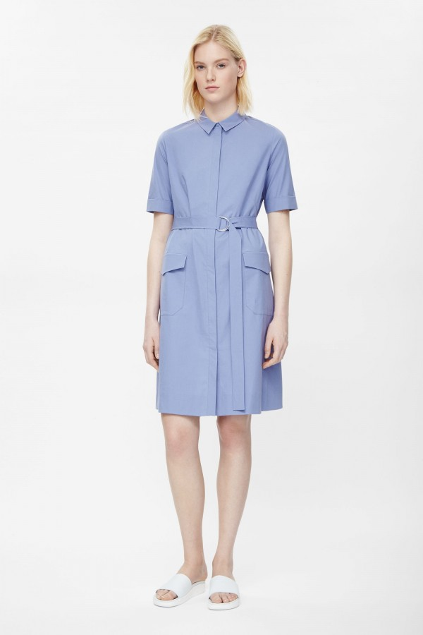 3. Belted shirt dress, £69 from COS.