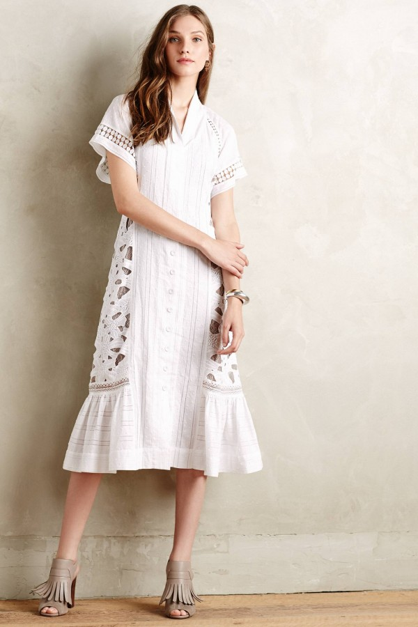 4. Sunlace Shirtdress by Byron Lars Beauty Mark, 8, from Anthropologie.