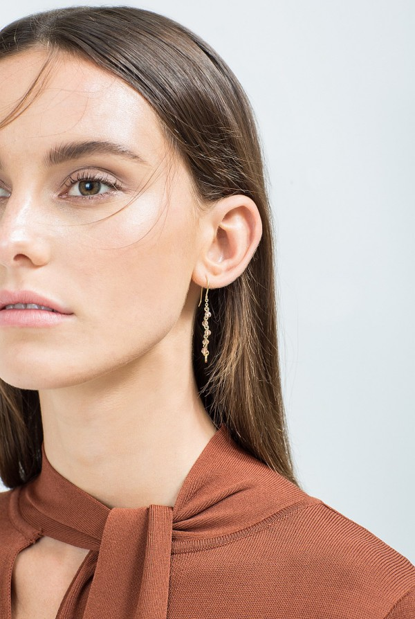 Country Road drop earrings: get the Nina Proudman look.