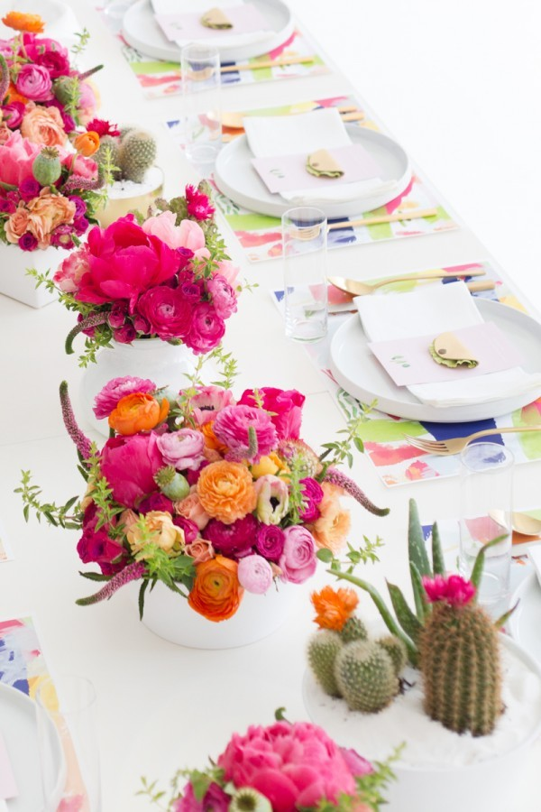 A Cactus-inspired brunch by Studio DIY.