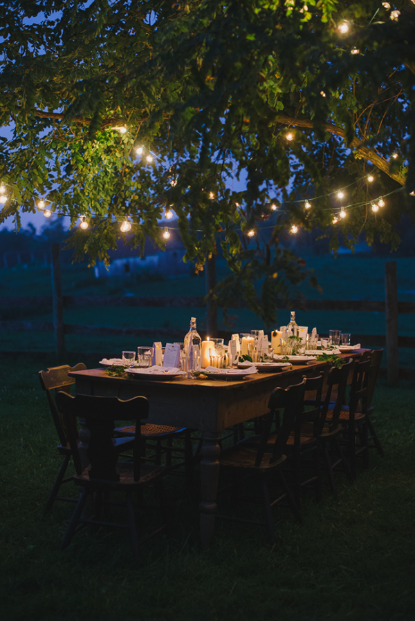 Dining under the stars, via A Daily Something.