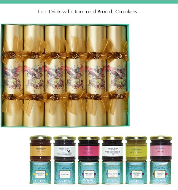 Fortnum's Afternoon Tea Christmas Crackers.