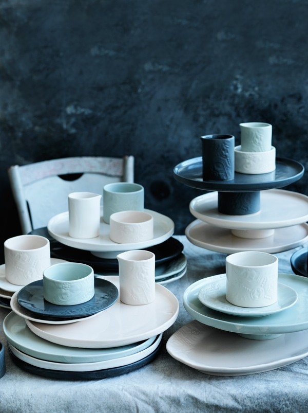 Gourmet Traveller Signature Collection by Robert Gordon Australia, an eight-piece tableware collection available exclusively at selected Domayne stores.