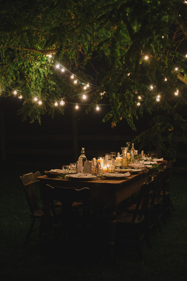 Dining under the stars via A Daily Something.