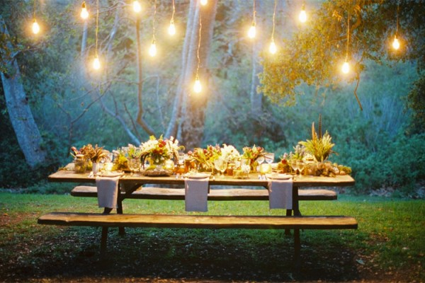 Styling by Flower Wild; Photo by Jose Villa. A magical setting.