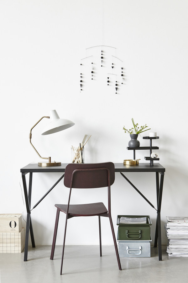 How to style a vignette inspired by Danish brand House Doctor: the desk.