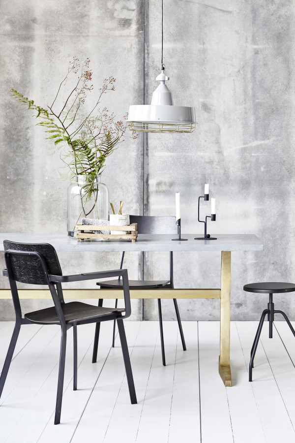 How to style a vignette inspired by Danish brand House Doctor: the dining table.