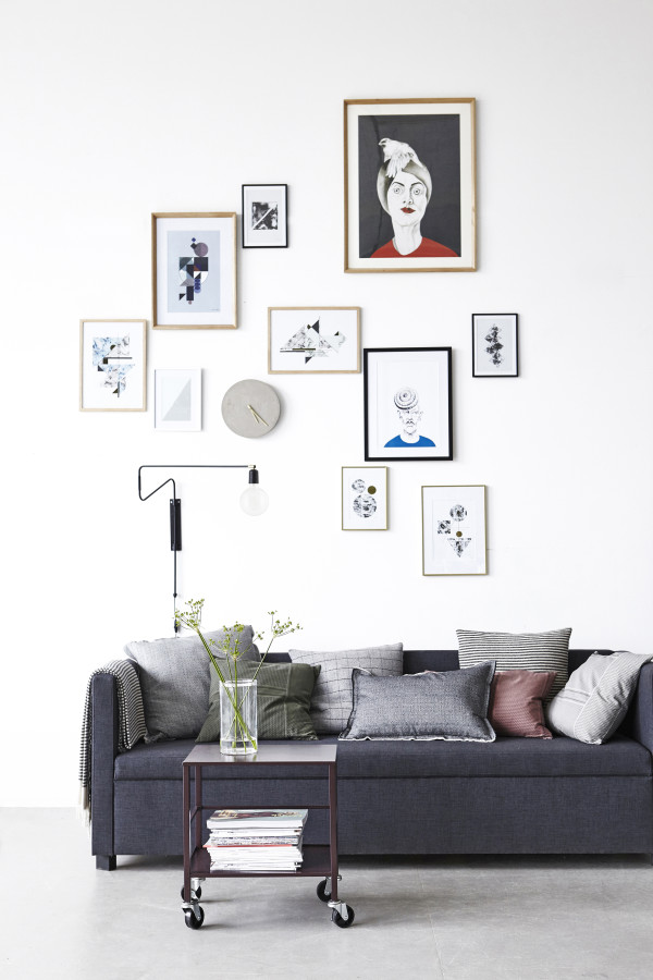 How to style a vignette inspired by Danish brand House Doctor: the gallery wall.