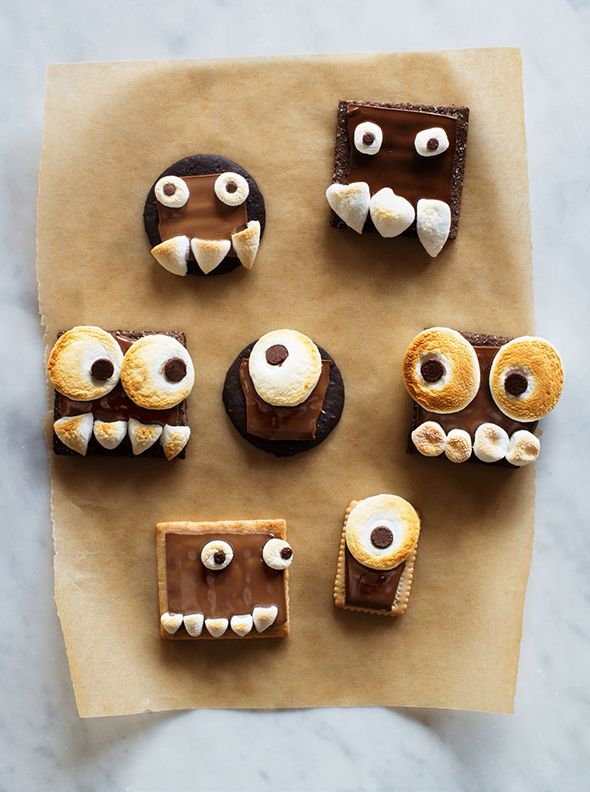 DIY Monster Smores by Say Yes.