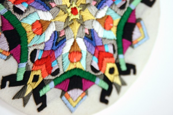 Photo courtesy of Lorena Marañon, Embroidery, Patchwork, and Surface Design.