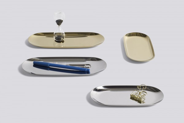 New trays, arriving in October.
