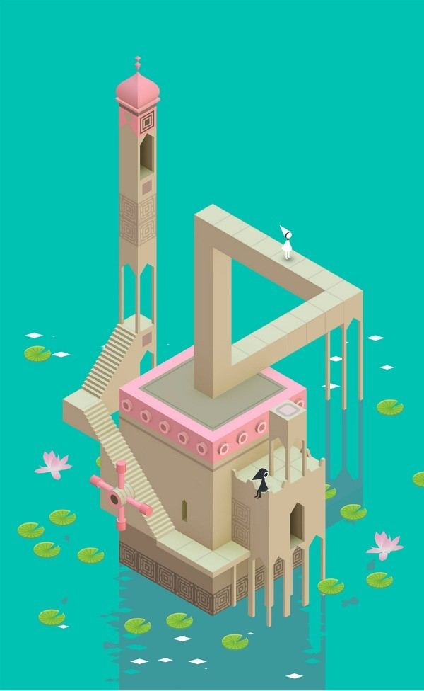 Monument Valley artwork via we-are-scout-com.