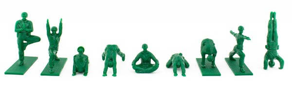 Yoga Joes, from Oliver's Twisty Tales.