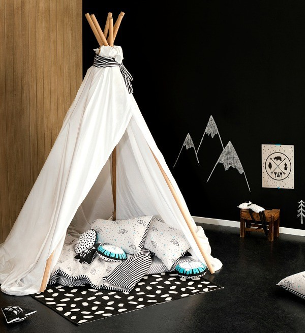 Cotton On Kids room collection, via We Are Scout.