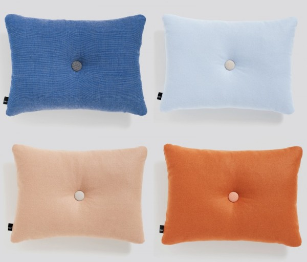 Dot cushions, arriving in October.