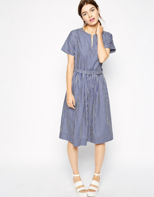 Antipodium Tulum Dress in Candy Stripe, now 4.74 (from 3.16) at ASOS.