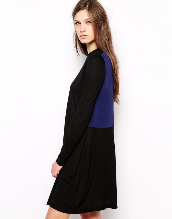 Antipodium Setter Dress with Silk Panel, now 4.14 (from 2.65), from ASOS.