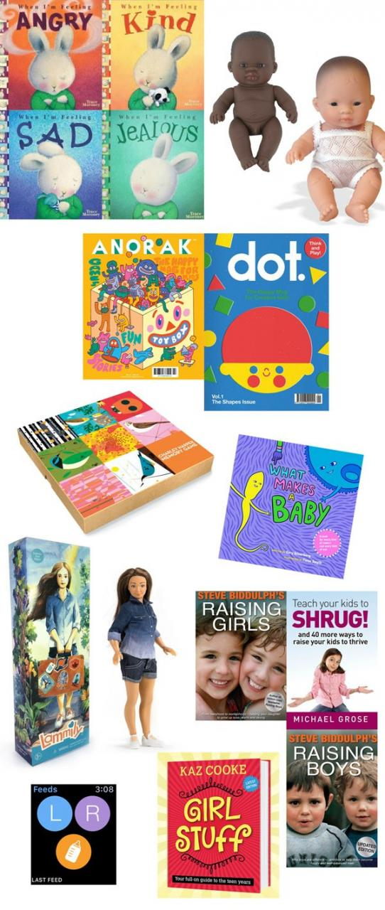 The best parenting and kids apps, websites, toys, dolls, books, magazines, games, movies and more... for tiny tots through to tweens.
