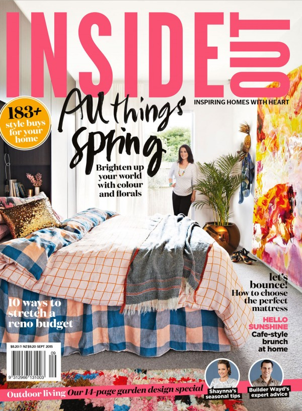 Sneak peek inside Inside Out magazine, September 2015.