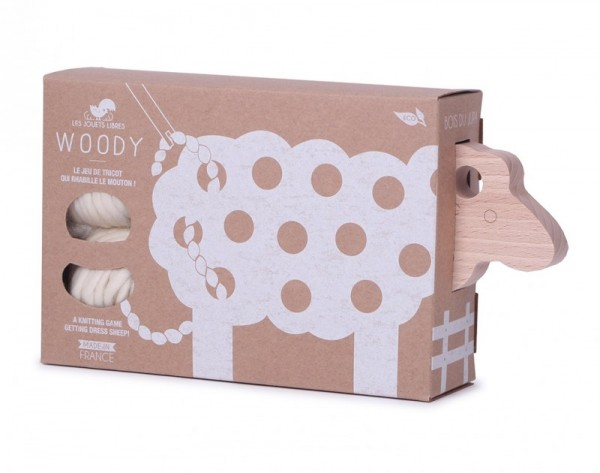 Woody sheep toy from Mama Shelter